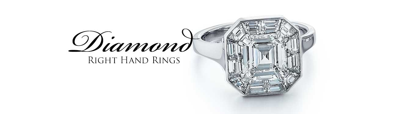 Diamond Right Hand Rings