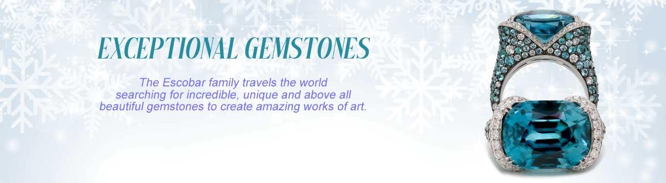 Exceptional Colored Gemstones