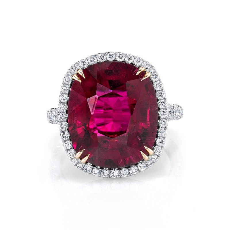 Rubelite Tourmaline Ring