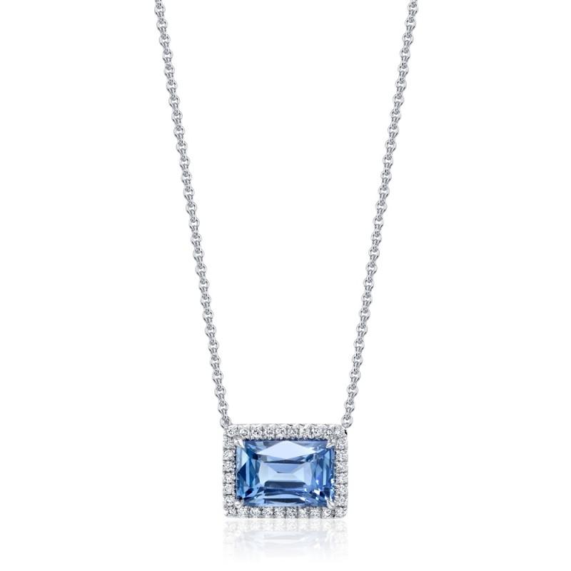 Sky Blue Sapphire Pendant