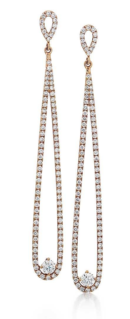 Forevermark Rose Gold Drop Earrings