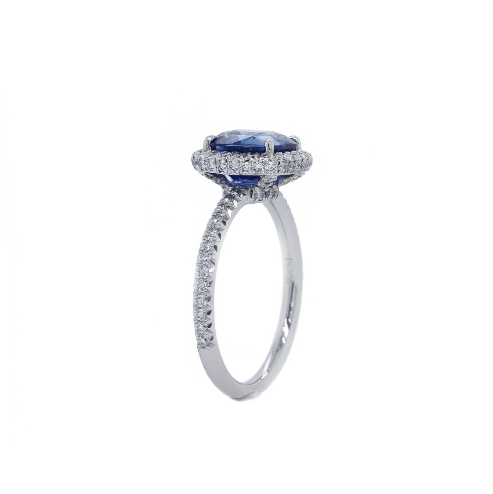 Royal Blue Sapphire Engagement Ring Engagement Rings