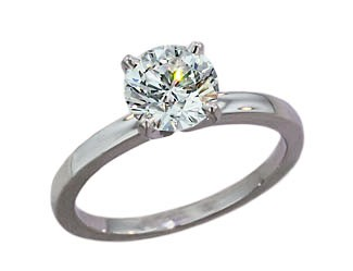 Escobar Exclusive 2.0mm solitaire engagement ring