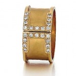 Marika design diamond ring
