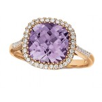 Rose de France Amethyst Ring