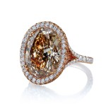 Incredible Brown Diamond Custom Ring