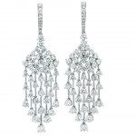 Chandelier Diamond Drop Earrings