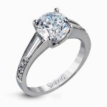 Simon G design Caviar Collection Engagement ring