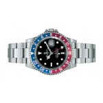 Rolex GMT Master II Blue and Red Bezel 16710