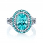 Incredible Paraiba Tourmaline Custom Ring